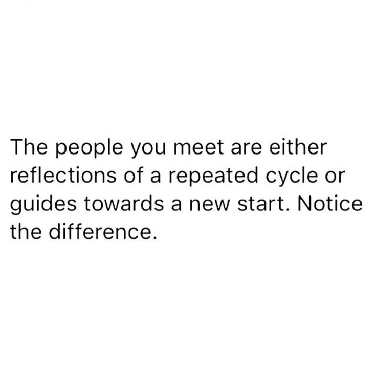 #Truth!   New year, new you? Then you better learn to recognize the difference - pc