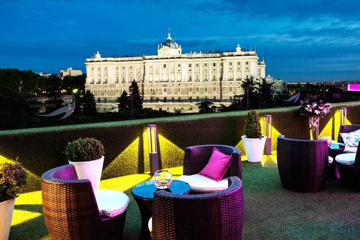 1000 images about places to go in madrid on pinterest for Hotel jardin barcelona