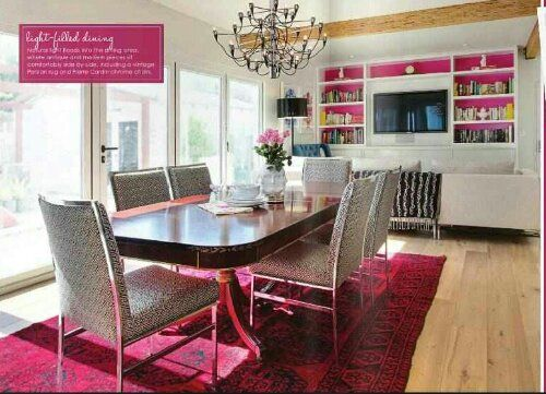 Colorful Vibrant Interiors How To Arrange Furniture In A