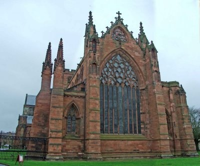 Carlisle Cathedral, Carlisle, Cumbria