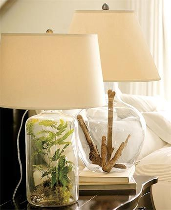12 Things To Fill A Lamp With - Decorating Ideas - It's A Fabulous Life