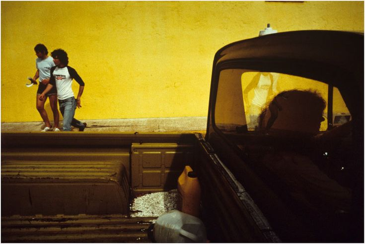 Beyond Obvious: Constantine Manos. Greek American color.