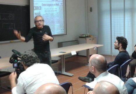 Una lezione coinvolgente tenuta dal maestro Tarek Ben Abdallah sui films di Davide Manuli