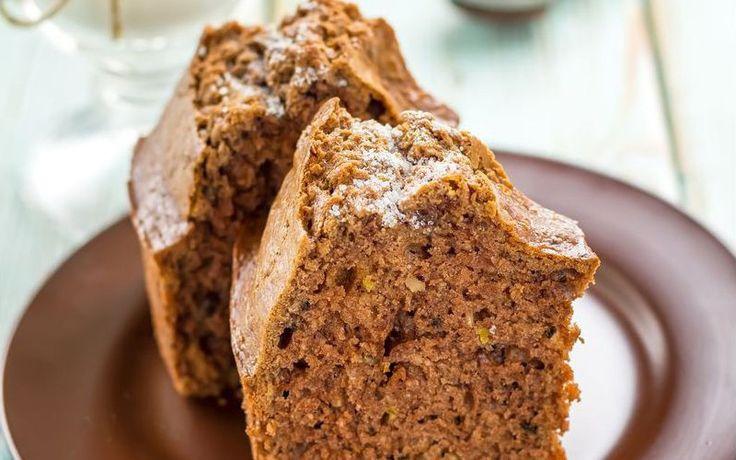 Κέικ με ξηρούς καρπούς και καφέ