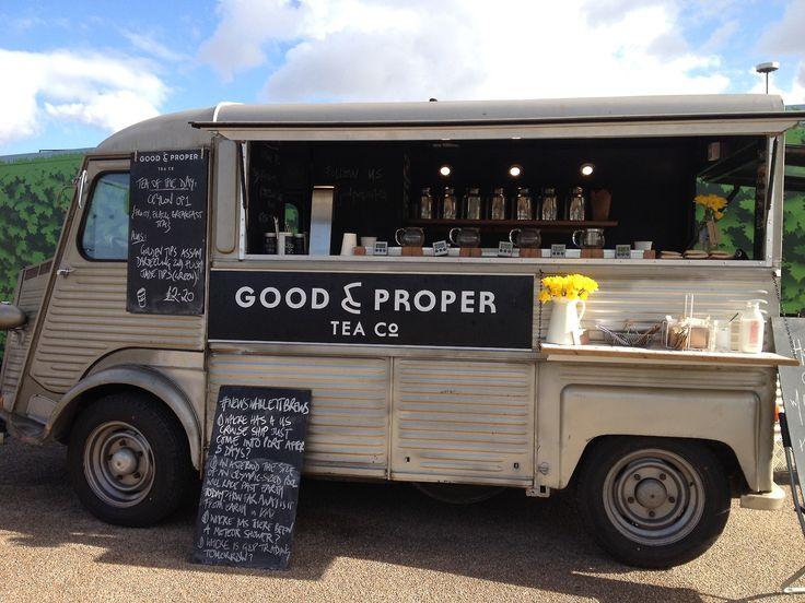 Good Proper Tea Food Truck London