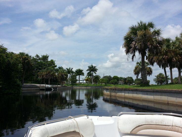 Boating in Gulf Shores, Punta Gorda, Florida off the Peace River via Amplification, Inc. digital marketing agency http://amplificationinc.com/