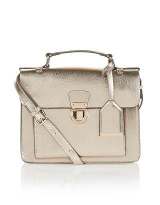 Dani Satchel Bag | Metallic | Accessorize