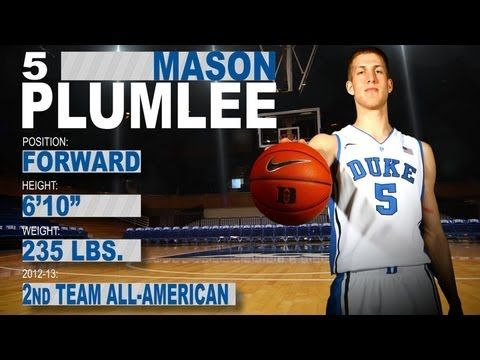 With the 2013 NBA Draft right around the corner, we profile the ACC's top draft prospects and highlight some of the greatest plays of their career. Check out Duke forward Mason Plumlee as we showcase his memorable career.