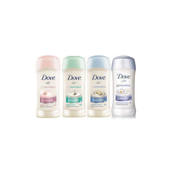 Dove go sleeveless Deodorant Anti-Perspirant Review ❤ liked on Polyvore featuring beauty products, bath & body products, deodorant, anti perspirant deodorant and antiperspirant deodorant