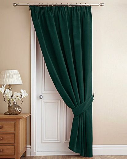 Velour Door Curtain