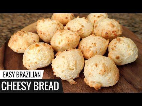 Brazilian Cheesy Bread Recipe Aka Pao De Queijo Easy Cheese