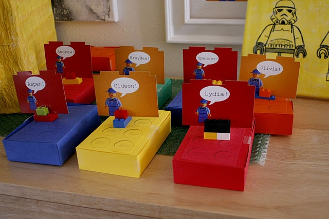 Really great Lego party Ideas