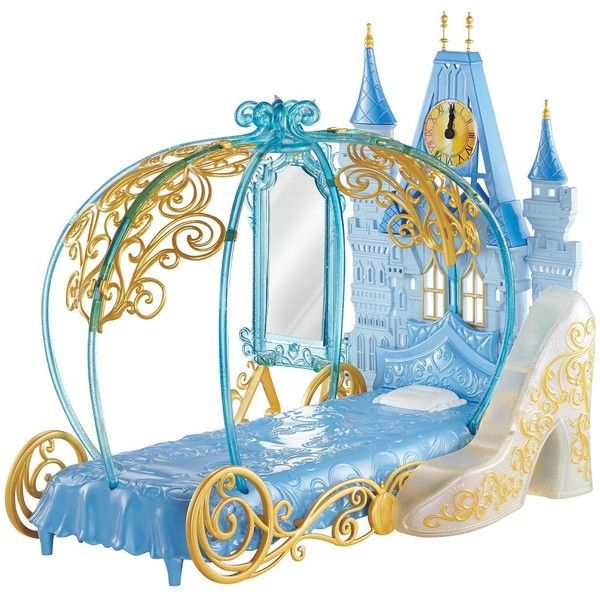 Disney Princess Cinderella'S Dream Bedroom ($39) ❤ liked on Polyvore featuring home, children's room and children's decor