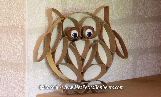 Diy Toilet Paper Roll Owl