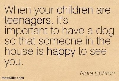 Great quote from Nora Ephron!