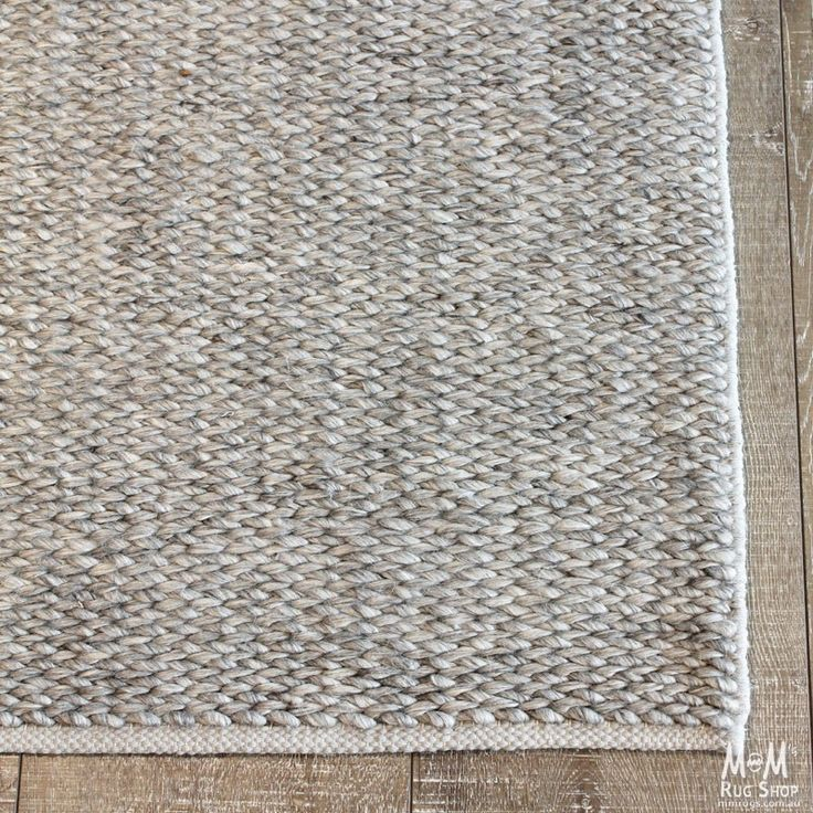 M&M rug shop-Madison Grey-NZ Wool with Art Silk Plaited finis, made in India, handmade. Prices for $989.00
