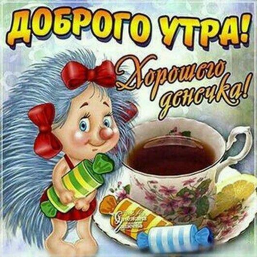 Доброе утро привет картинки