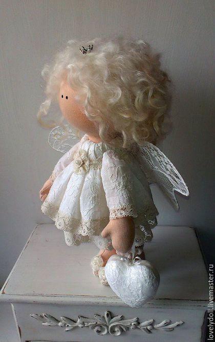 Коллекционные куклы ручной работы. Ангел-хранитель 2. Светлана Рубин. Ярмарка Мастеров. Ангелочек, подарок на день рождения