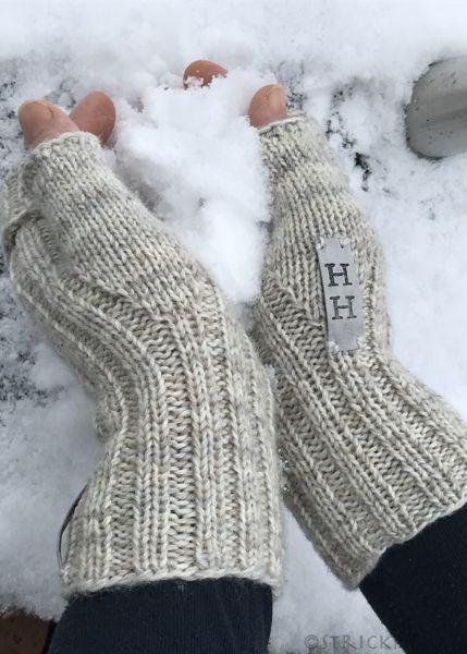 Turboschnelle Handstulpen mit Anleitung/Turbofast Mittens – Birgit M