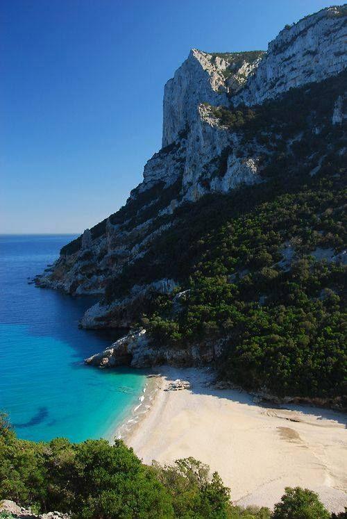 Beach Cliffs Sardinia Italy Italy Pinterest