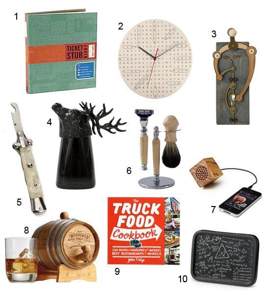 Gifts for the Modern Male Hipster — Apartment Therapy Gift Guide 2012