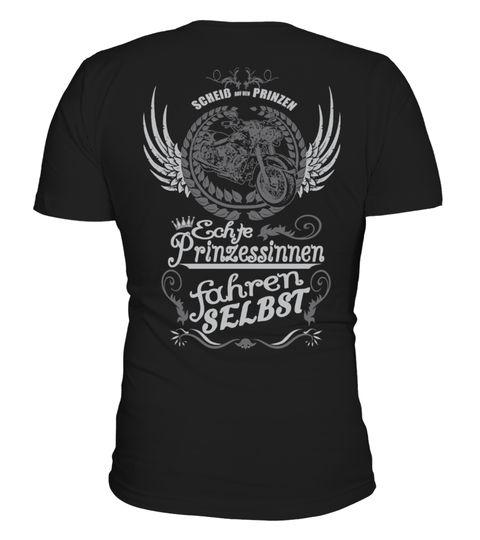 T shirt  Motorrad Echte Prinzessinnen  fashion trend 2018 #tshirtdesign, #tshirtformen, #tshirtforwoment
