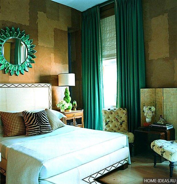 Декор квартиры в зеленом цвете: стены, акценты, аксес..