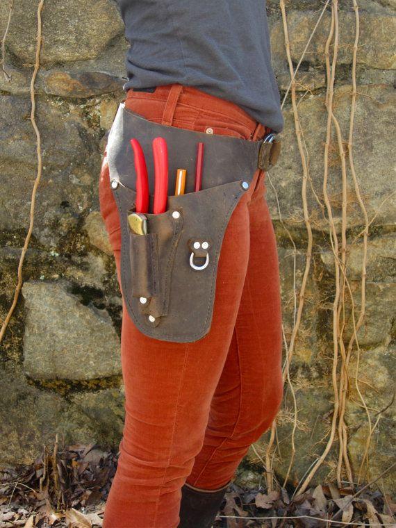 Garden Belt + knife pocket