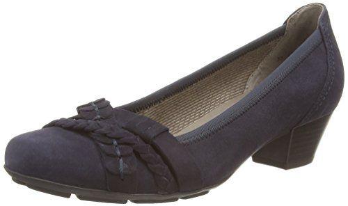 Gabor Shoes 35.411 Damen Pumps, Blau (pazifik 16), 38 EU - http://on-line-kaufen.de/gabor/38-eu-gabor-shoes-35-411-damen-pumps