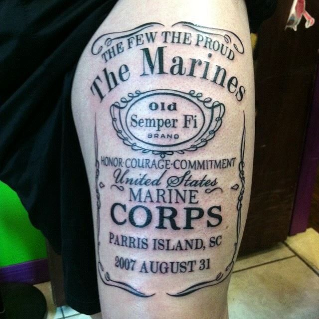 Marine Corps I'll get this with my graduation date