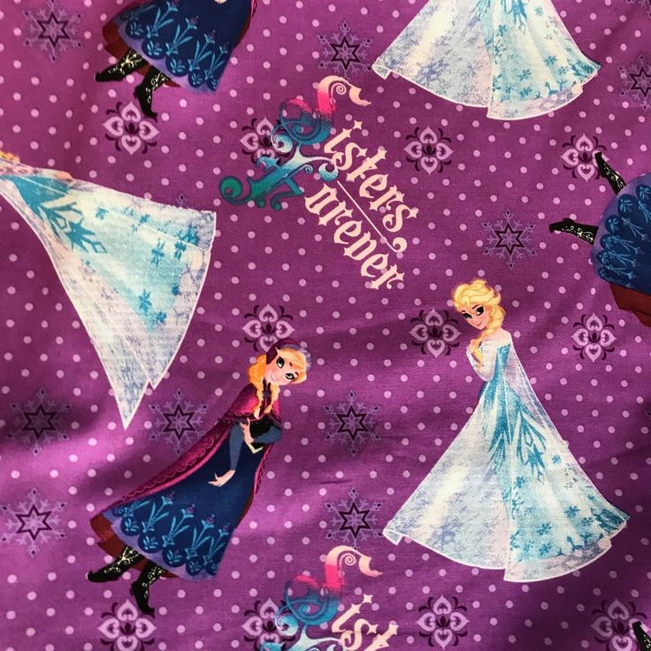 #Disney #Frozen #elsa Sisters Forever Character Toss Lavender Cotton Fabric by the Yard #SpringsCreativeProductsGroup #disneyprincess #fabric #freeshipping See our others!