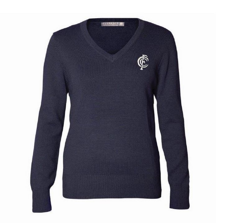Ladies Carlton Supporter Club Knit