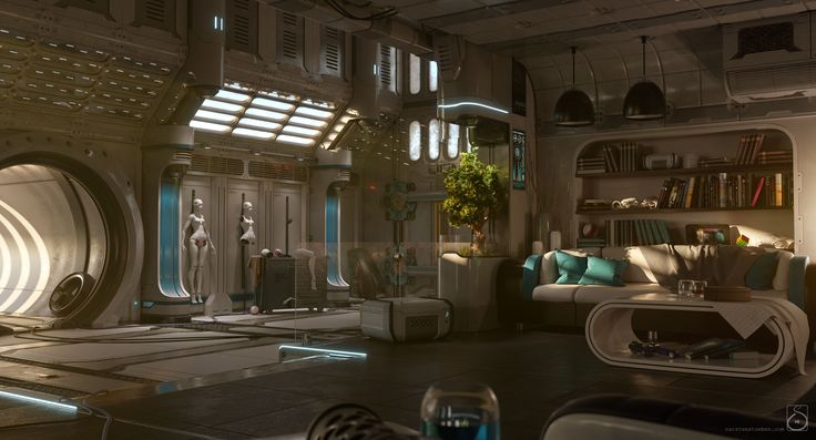 Home by Carsten Stueben | Sci-Fi | 3D | CGSociety