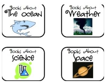 FREE library labels for your classroom!  Use these labels in order to organize your books according to K-4th grade topics and skills.  Please come ...