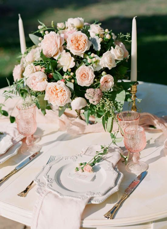 Romantic Country House Wedding Inspiration from Blooming Love Events and Qlix Photography | Simply Peachy Event Design & Planning