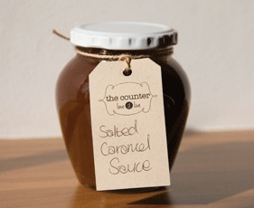 Salted Caramel Sauce. @CounterLove. (Photograph via Eat In)