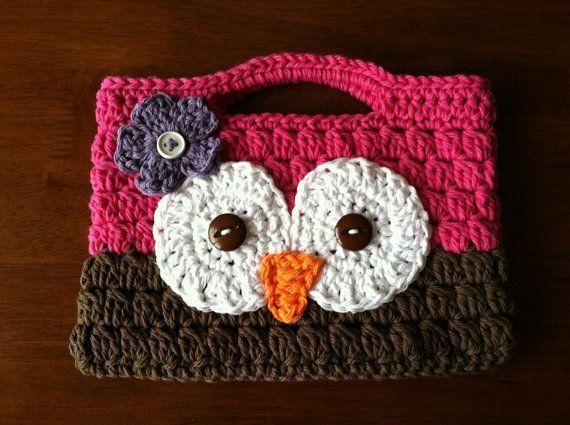 Owl ereader bag