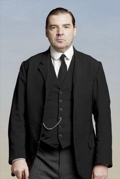 Brendan Coyle as valet John Bates
