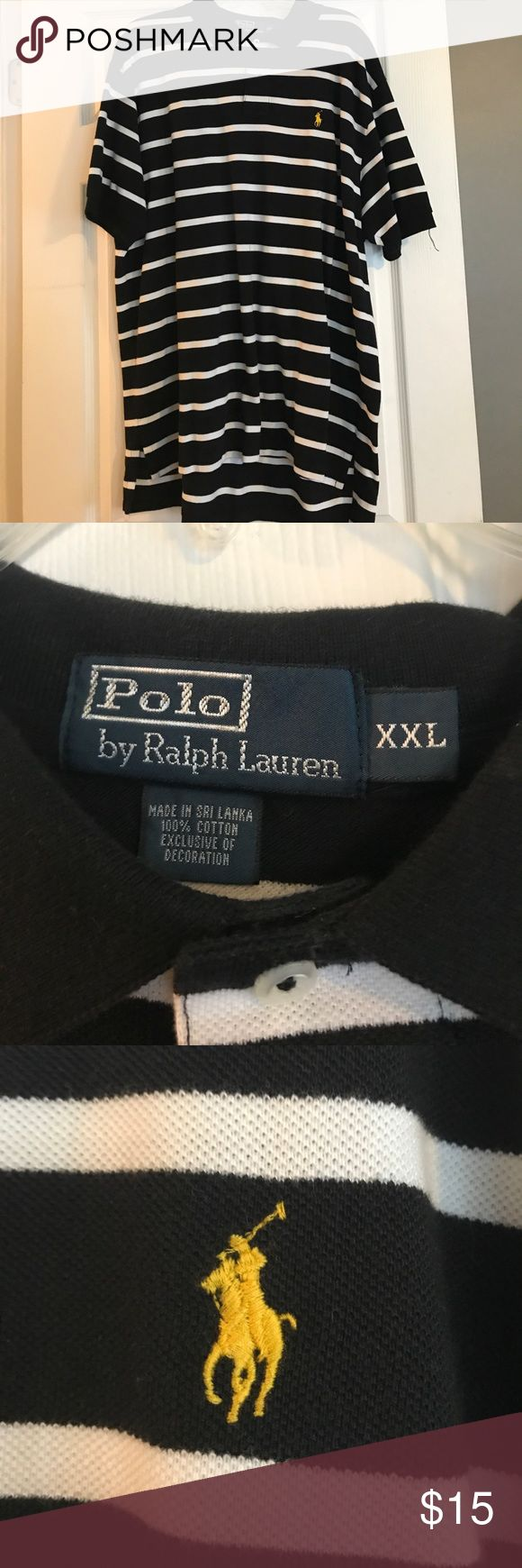Black and white polo Black and white polo Polo by Ralph Lauren Tops Tees - Short Sleeve