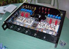 Single-Ended Vollverstaerker mit Spannungsregler und der Hochleistungstriode 6C33, von Klaus