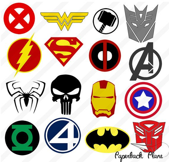 Superheroes transformers SVG PNG Cut Files for by Paperbackplane