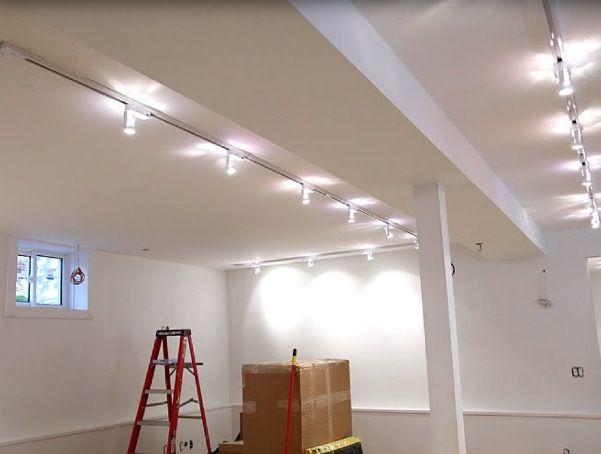 Basement Lighting Fixtures: Basement Lighting