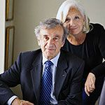 Author Elie Wiesel and his wife, Marion
