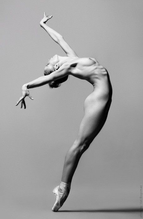 Nude figure drawing reference