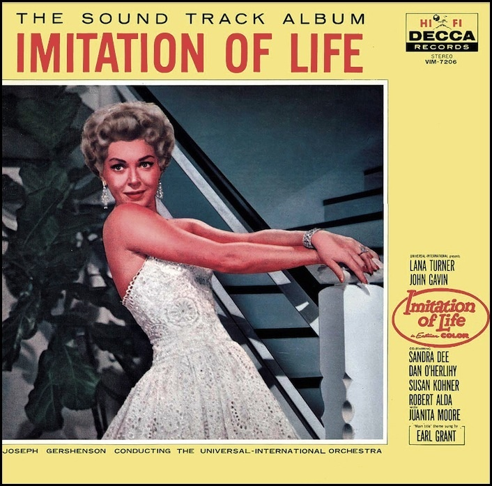 """Imitation Of Life"" (1959, Decca). Music from the movie"