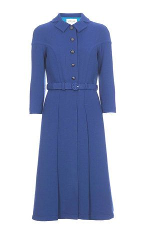 It's by Eponine, a London based label she's worn before and which takes inspiration from the silhouettes of the 1950s and 1960s. So think a combination of nipped in waists, A-line cuts and fuller skirts. Read more: http://www.dailymail.co.uk/Kate Middleton resumes her royal duties for 2017 | Daily Mail Online