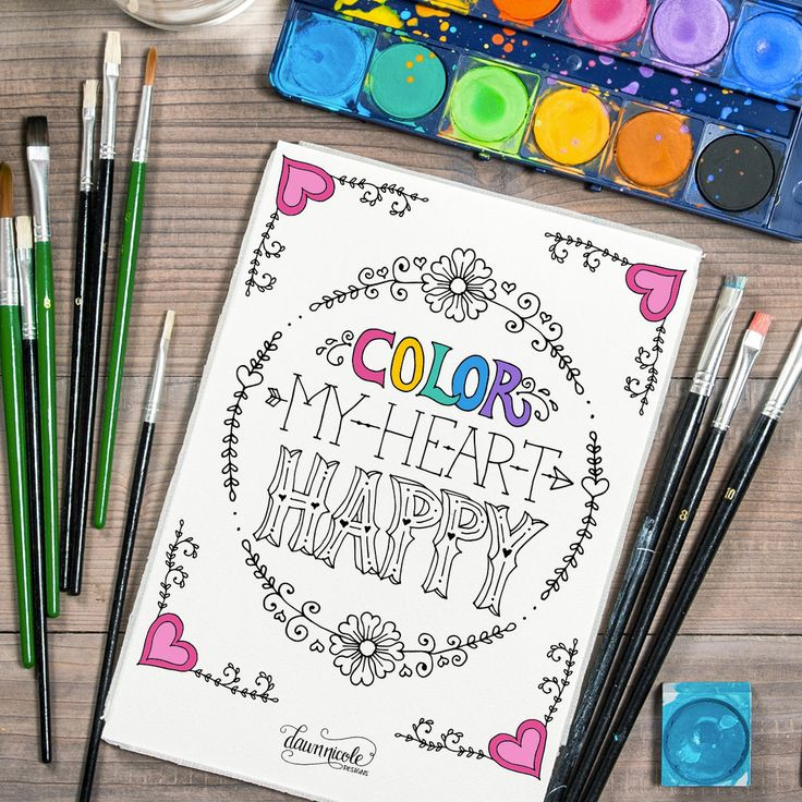 We've already touched on the benefits of adult coloring books (they reduce stress, promote a sense of well-being, and help you focus on one specific task) . . . now we're bringing you the magic for free.