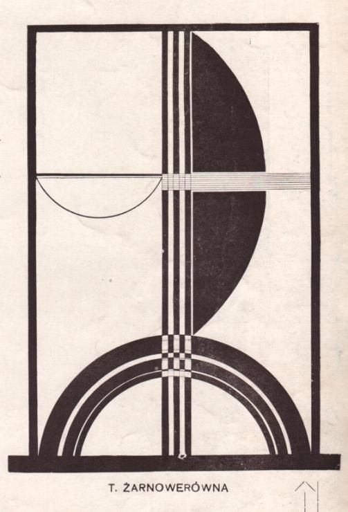 Zarnowerowna Teresa 1924 Untitled Typographic Composition - Teresa Żarnowerówna…