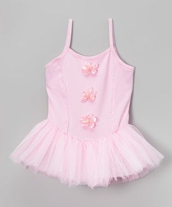 Pink Skirted Leotard - Infant, Toddler & Girls