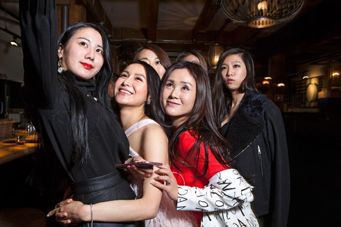 """A reality show, """"Ultra Rich Asian Girls of Vancouver,"""" chronicles the lives of Weymi Cho (left) and a group of friends."""